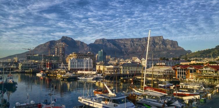 ville de cape town en Afrique du sud